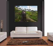 GANDALF IN HOBBITON LORD OF THE RINGS Giant Wall Art Print Picture Poster