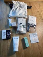 skincare samples Including Sturm, Diptyque, Carthusian, Fresh