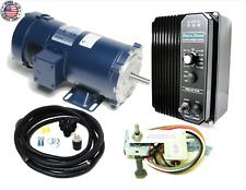 KB Electronics KBPC-240D DC drive 9338 w/ Leeson 1800rp 1hp dc motor MADE IN USA