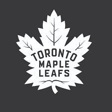 Toronto Maple Leafs NHL Hockey Logo  Vinyl Car Truck Decal Window Sticker White