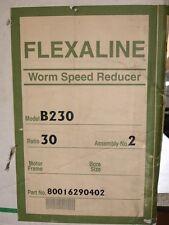 Make Offer NEW Grove Gear B230 Flexaline Worm Speed Reducer B230-30-2 30-1 Ratio