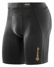 Skins A400 Mens Compression Power Shorts (Black) + FREE AUS DELIVERY