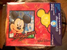 Disney Autograph Picture Scrap book Capture The Magic Character Mini Memory Kit