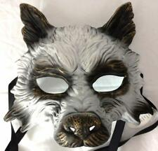 Werewolf Wolf Horror Mask Halloween Cosplay Monster Gothic Pagan Animal Costume