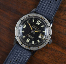 Vintage BULOVA 666 Stainless Steel Diver Automatic Men's Watch