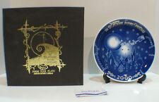 Tim Burton's Nightmare Before Christmas 2000 Year Commemorative Plate LTD 2400