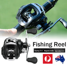 AU 17+1 BB Baitcasting Fishing Reels High Speed Left/Right Smooth Fishing Reel .