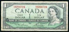 .Paper Money Canada 1954 1 dollar DI 8266724