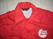 Vintage Pla-Jac CONAGRA Red Light Windbreaker Rain Coat Jacket USED SMALL