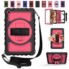 For Samsung Galaxy Tab A 10.1 8.4 8.0 Inch Shockproof Strap Rotating Case Cover