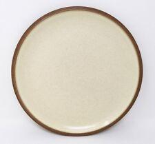 "Denby Cinnamon - 2 x 9"" Salad/Breakfast/Dessert Plates."