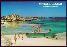 1997 45c Kangaroo ROTTNEST ISLAND WA POSTCARD Australia (Murray Views)