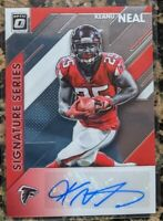 2020 Donruss Optic Keanu Neal Auto 💥 Falcons Signature Series autograph