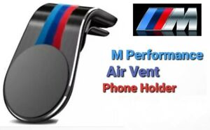 BMW M Performance Car Air Vent Phone Holder Mount Sticker For F10 F30 & F Series