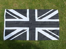 NUFC Black/White 5x3 Flag Union Jack Sports Newcastle United Football Toon Army