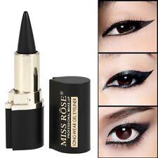 Black Eyeliner Stick smooth solid Thick gel waterproof Long Lasting Makeup Tools