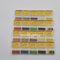 1 Pack K-FILE Dental Hand Use Root Canal Instrument Choose 21/25/31mm #06 - #40