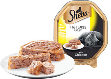 Sheba Fine Flakes with Chicken in Jelly 22 x 85g