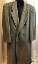 Today's Man Fierte S.R.L Winter Coat gray Wool Mohair Men's Size 38 Italy