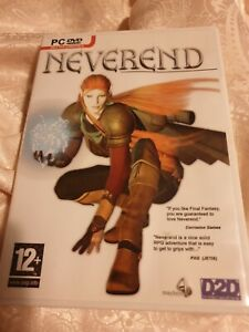Neverend fantasy adventure game for PC DVD ROM