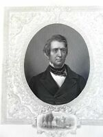 William Henry Seward U.S. Secretary of State 1860s Virtue Civil War era portrait