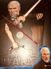 HOT TOYS STAR WARS EP2 COUNT DOOKU - LED HAND W/ SABER  - US SELLER---