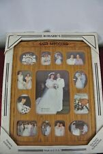 Vintage Robar's Wedding Oak Picture Frame for 13 Photos