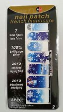 14PCS CHRISTMAS NAIL WRAPS POLISH STICKERS PATCH FOILS NAIL ART DECALS ADHESIVE