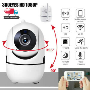 1080P WIFI IP Camera Wireless Indoor HD PTZ CCTV Home Smart Security IR Cam 2021