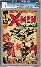 X-Men #1 CGC 1.8 (C-OW) Origin & 1st Appearance of the X-Men