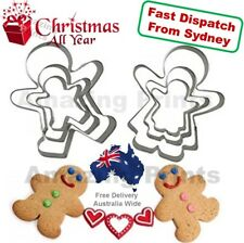 Gingerbread man girl cookies cutter Christmas party Xmas Biscuit Pastry Mould