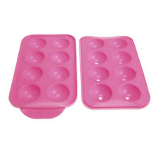 Cake Pop Silicone Mold Set, Pink, 7-1/2-Inch