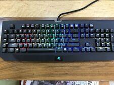 Razer Black Widow CHROMA Keyboard with Box & Instructions