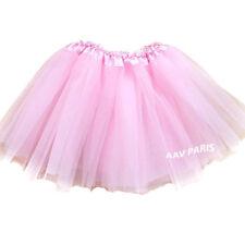 Tutu de Ballet Danse Soirée Jupe Jupon pour filles -  taille unique - rose