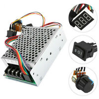 US 10-55V 100A 5000W Reversible DC Motor Speed Controller PWM Control Soft Start