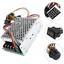 DC10-55V 12V 24V 36V 60A PWM Motor Speed Controller CW CCW Reversible Switch