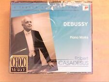 RARE COFFRET 2 CD / DEBUSSY / OEUVRES POUR PIANO / ROBERT CASADESUS / NEUF CELLO