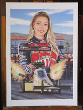 Leah Pritchett Top Fuel 13x19 inch Art Print Limited to 300 Signed by the Artist