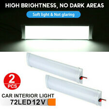 2PC 12V LED Auto Interior Lights Dome Roof Ceiling Reading for RV Camper Trailer