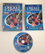 International Cricket Captain III 3 (2007) PC CD-ROM Game w/ Manual *FREE UK P&P