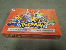 2005 Milton Bradley Pokemon Master Trainer Board Game Incomplete