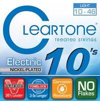 Cleartone 9410 Nickel-Plated Steel Electric Guitar Strings, Light, 10-46