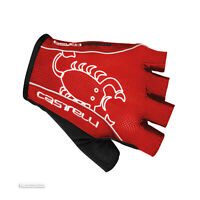 Castelli ROSSO CORSA CLASSIC Summer Cycling Gloves : RED