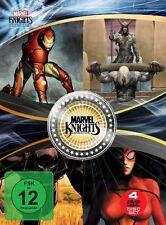 4 Marvel Knights Filme Iron Man & Thor + Loki & Black Panther & Spider-Woman NEU