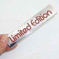 3D Red Limited Edition Logo Emblem Badge Metal Car Sticker Decal Car Accessories