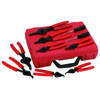 11-Piece Snap Ring Pliers Tool Set Circlip Retaining Plier Kit .038 - .090 tip