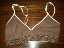 NWOT FOXERS SLEEP BRA COTTON / LYCRA  BROWN SIZE M