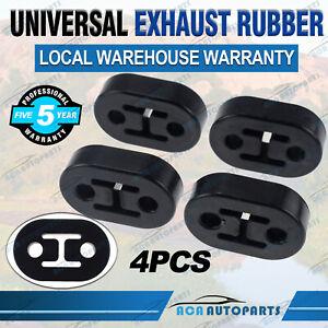 4X Exhaust Mount Repair Hanger Bracket Heavy Duty Rubber Replacement Universal