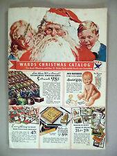Montgomery Ward CATALOG - Christmas, 1933 ~~ Wards