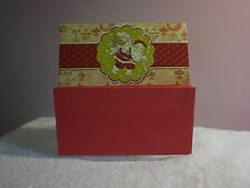 For Arts Sake - Christmas Card - Money Wallet - Santa carrying packages